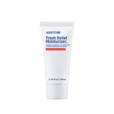 Увлажняющий крем для лица с экстрактом центеллы азиатской  ASIS-TOBE Fresh Relief Moisturizer
