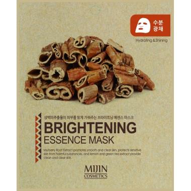 ТКАНЕВАЯ МАСКА ВЫРАВНИВАЮЩАЯ ТОН КОЖИ Mijin Brightening Essence Mask