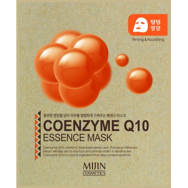 ТКАНЕВАЯ МАСКА С КОЭНЗИМОМ Q10 Mijin Coenzyme Q10 Essence Mask