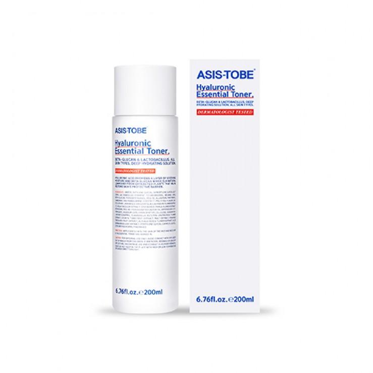 Увлажняющий тоник для лица  ASIS-TOBE Hyaluronic Essential Toner