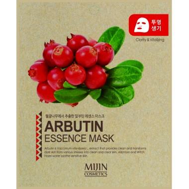 ТКАНЕВАЯ МАСКА С АРБУТИНОМ Mijin Arbutin  Essence Mask