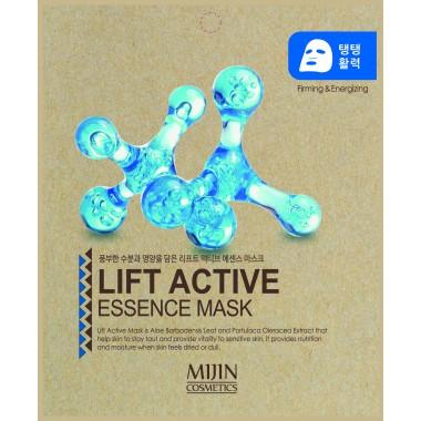 ТКАНЕВАЯ МАСКА  С ПОДТЯГИВАЮЩИМ ЭФФЕКТОМ Mijin Lift Active Essence Mask
