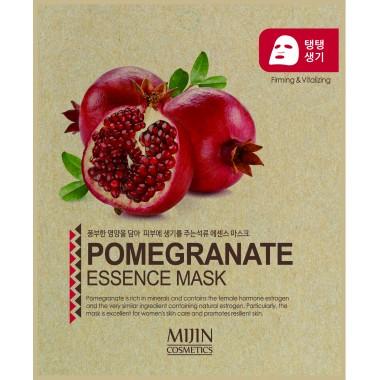 ТКАНЕВАЯ МАСКА С ЭКСТРАКТОМ ГРАНАТА Mijin Pomegranate Essence Mask