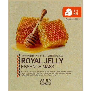 ТКАНЕВАЯ МАСКА С ЭКСТРАКТОМ МАТОЧНОГО МОЛОЧКА Mijin Royal Jelly Mask