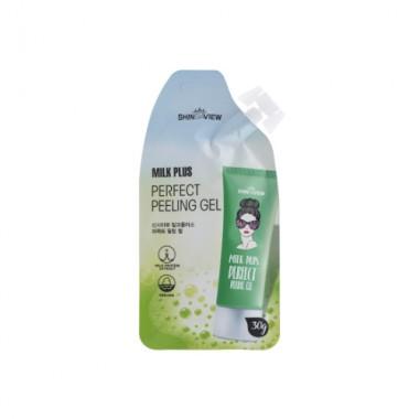 Отшелушивающий гель для лица Shinsiaview Milk Plus Perfect Peeling Gel
